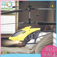 Helikopter Induksi Infrared Mini dengan Remote Control