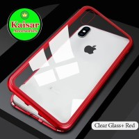 Buruan Order Iphone 6 Luxury Magnetic Case 2 In 1 Tempered Glass