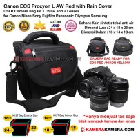Tas Kamera Canon EOS Camera Bag Procyon L AW Rain Cover for DSLR