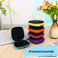 Pouch PERSEGI Penyimpanan Headset / Dompet headset