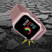 Milanese Strap Stainless Steel untuk Apple Watch 42mm 38mm