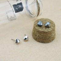 1 pair KPOP BTS Infinite HOYA Star Jewelry diamond modeling earrings