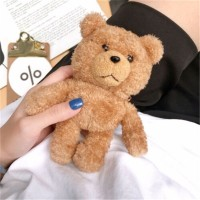 New AirPods1-2 Wireless Bluetooth Headset Plush Doll Bear Protection