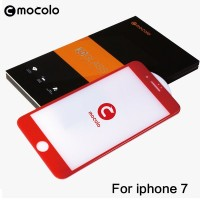 Mocolo Premium Tempered Glass 3D Full Cover - Iphone 7 - Red grab