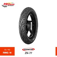 Promo ZENEOS TL ZN 77 70/90 Ring 14 Ban Motor Tubeless Diskon