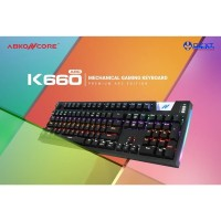 Abkoncore K660 ARC Outemu Blue Switch Mechanical Gaming Keyboard