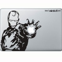 Tokomonster Decal Sticker Iron Man 8 Macbook Pro and Air - Hitam