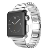 Strap Stainless Steel untuk Apple Watch 42mm / 38mm Series 3 & 2 / 1