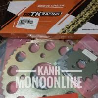 Gear Set TK RACING 428 CB150R CBR150 VERZA SONIC MEGAPRO TIGER 13T-16T