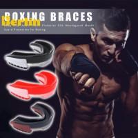 ✯ Mouth Guard Pelindung Mulut Bahan EVA untuk Boxing / Basket