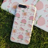 Vivox21 pink x27 shell ponsel x20 peach tutup pelindung x23 warna