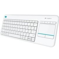 Keyboard Wireless Logitech ORIGINAL High Quality K400 Plus - Whit