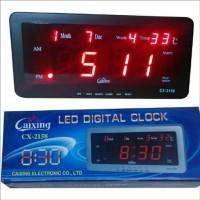Jam Digital Cx 2158 led merah bisa di meja dan dinding. limited s