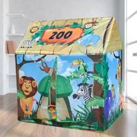 Tenda Anak Kartun Karakter Hewan AN8117 Zoo Kids Tent