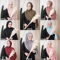 TERLARIS!!! Jilbab Pashmina Sabyan Diamond Italiano Hijab Kerudung