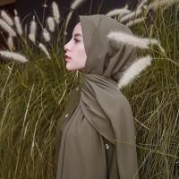 TERBARU Hijab Pashmina Sabyan - Kerudung Pasmina Diamond Italiano