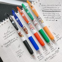 PULPEN GEL SARASA CLIP ZEBRA LINE FRIENDS LIMITED EDITION - 0.5 MM