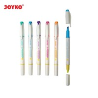 HIGHLIGHTER / PENANDA JOYKO HL-46 / 1 SET 5 PCS / 6 WARNA KODE 442