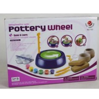Pottery Wheel - Diy Toys - Activity Games - Tanah Liat