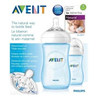 BOTOL PHILIPS AVENT NATURAL 260 ML - ISI 2 PCS Limited