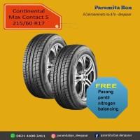Ban Mobil Continental MC5 215/60 R17 Alphard, Rush, Terios (DOT 2019)