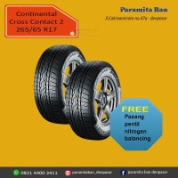 Ban Mobil Continental CCLX2 265/65 R17 Fortuner,Pajero (DOT 2019)