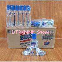 SOS Hand Sanitizer Antiseptic 60ml Gel S.O.S