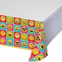 Taplak Meja Tema Show Your Emojion - Perlengkapan Pesta Ulang Tahun