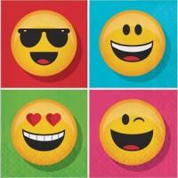 Tisu Lunch Tema Show Your Emojion - Perlengkapan Pesta Ulang Tahun