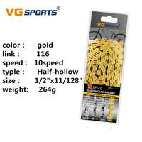 Rantai 10 speed gold VG Sports Chain seli nn store sepeda lipat gowes