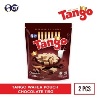 WAFER TANGO POUCH CHOCOLATE 125GR [ISI 2PCS]