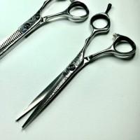 Paket Gunting Rambut - Koryu Nikko KN0560-Silver-Batik