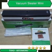 Vacuum Sealer Mesin alat press vakum plastik bungkus makanan murah