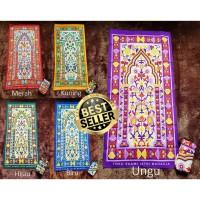 Sajadah Nusantara Lipat Travel Pouch Turki Oleh Haji Dewasa Murah Tas