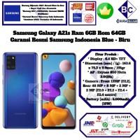 Samsung Galaxy A21s 6GB/64GB A 21s 6/64 GB A21 s 6/64GB Resmi-Blue
