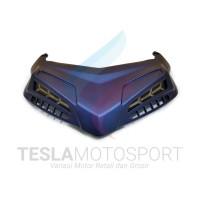 Ducktail Cover Lampu Stop Atas All New NMAX 2020 Merk MHR