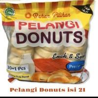 Donut Kentang isi.21 Pelangi Donat 20 + 1