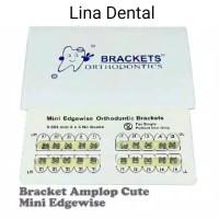 Bracket Amplop Cute / Behel Gigi / Mini Edgewise
