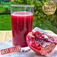 PROMO MURAH Jus Buah Delima Merah 1 Liter Juice Pomegranate Segar