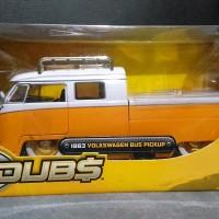Diecast jada VW combi pick up kuning
