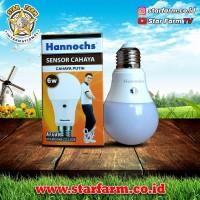 Lampu Hannoch LED Light Sensor 6 Watt Putih - Star Farm