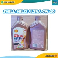 SHELL HELIX ULTRA SN PLUS 0W-20 FULLY SYNTHETIC 1 LITER