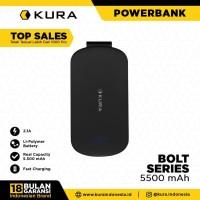 KURA Powerbank Bolt 5500 mAh - Putih
