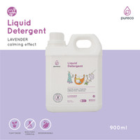 PURECO Liquid Laundry Detergent Refill 900ml Detergen Bayi Pure Co