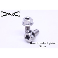 Drake Baut Kaliper Brembo 2 Piston 1 Set