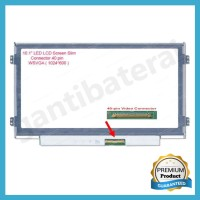 LCD LED Laptop 10.1 inch Slim Conector 40 Pin Bracket kanan kiri