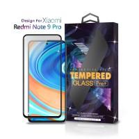 Tempered Glass Xiaomi Redmi Note 9 Pro Full Cover Black