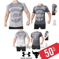 4in1 ( SIRO COLLECTION) / Kaos Gym Olahraga pria baju fitnes training