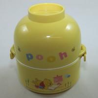 Lunch Box / Rantang Susun Plastik, 2 Susun, Kotak Makan