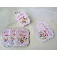 Custom Shape Thanks Card/Gift Card/Thank You Card/Kartu Ucapan
